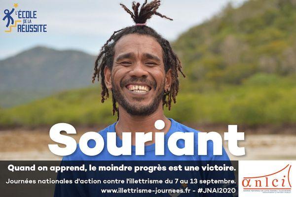 Affiche des Journées 2020 d'action contre l'illettrisme