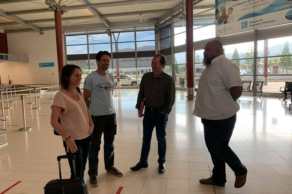Infirmiers départ pour la Polynésie 20 août 2021