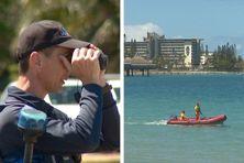 Police municipale, pompiers... L'alerte requin du 6 septembre à Nouméa, vue depuis l'Anse-Vata.