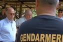 La journée dans l'ouest guyanais de Bernard Cazeneuve, ministre de l'Intérieur