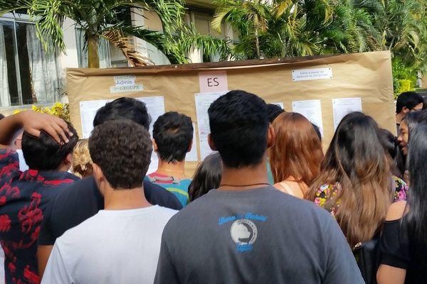 Résultats du BAC au lycée Paul Gauguin 2