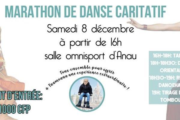 Marathon de danse caritatif à Bora Bora
