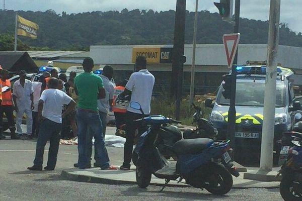 Accident mortel à Balata