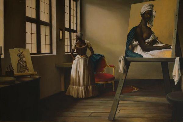 "Elizabeth Colomba, ""The Portrait"""