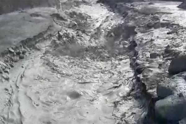 Coulée de boue au Prêcheur