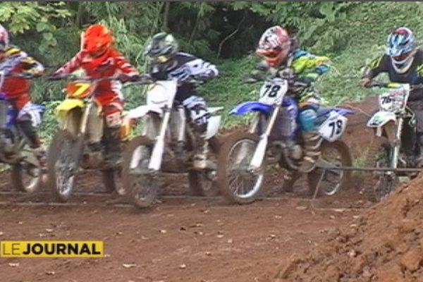 Motocross à Raiatea