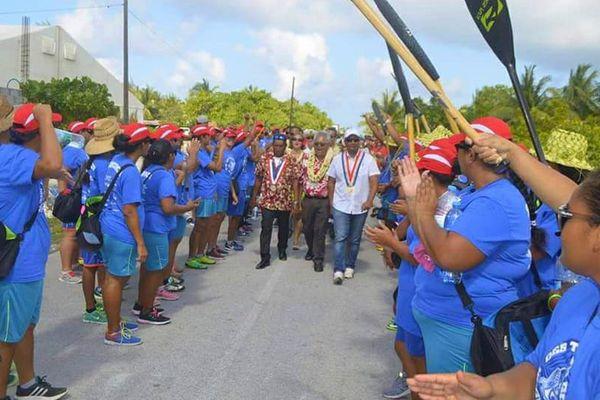 Les représentants de l'Etat, du Pays et de la commune étaient présents pour la cérémonie d'ouverture
