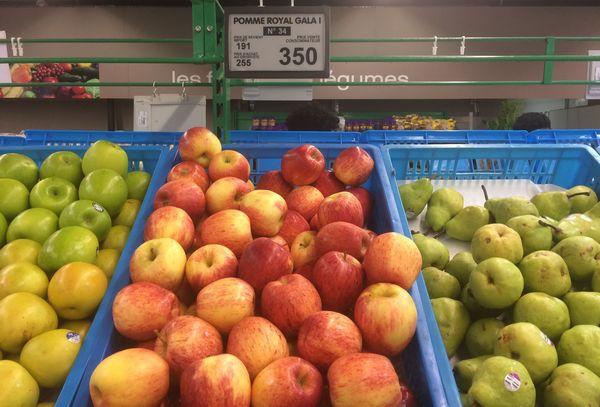 Supermarché Fruits pommes