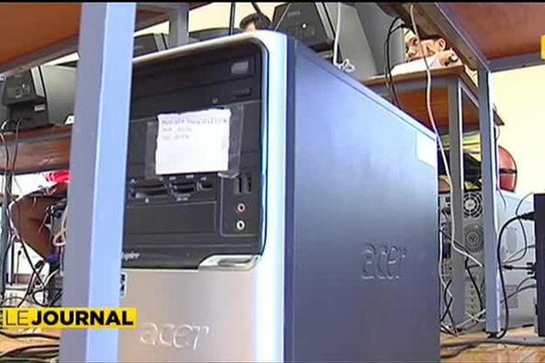 Association solidaire, Econet recycle les ordinateurs et forme les jeunes