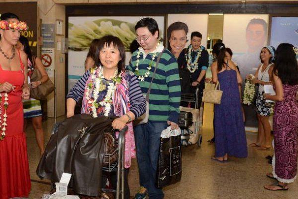 291 Chinois à la découverte de Tahiti et ses îles