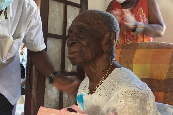 Renélia Sambin 110 ans