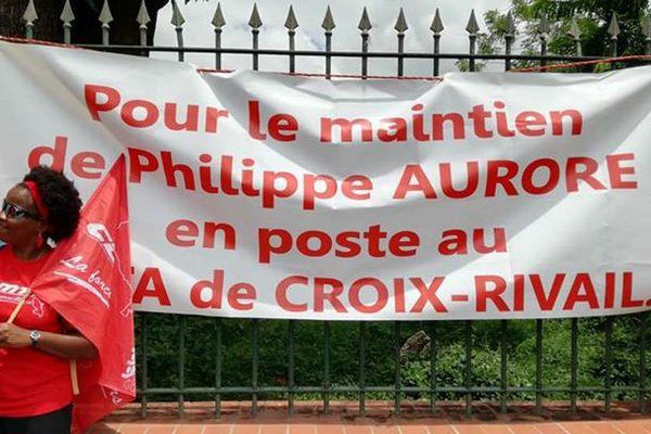 Manifestation pro Aurore