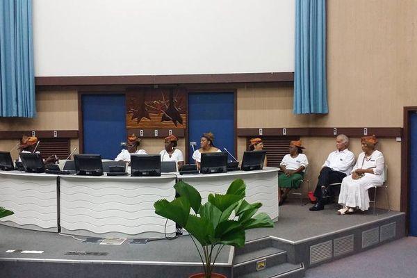 Les femmes de l'association Famn Dibout à la CCIG