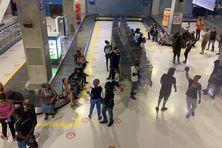 """Le 31 août, Moun Gwadloup a fait irruption dans une zone sécurisée de l'aéroport """"Pôle Caraïbes"""""""