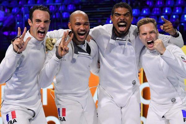 Les Français sacrés champions du monde d'escrime