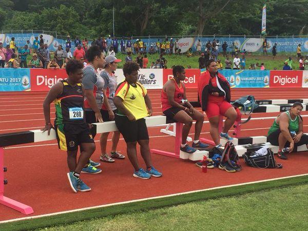 Mini Jeux du Pacifique athlétisme