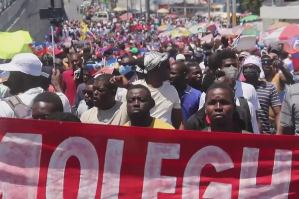 mobilisation Haïti