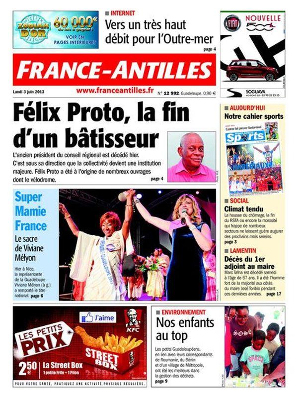 Une FA Guadeloupe 03/06