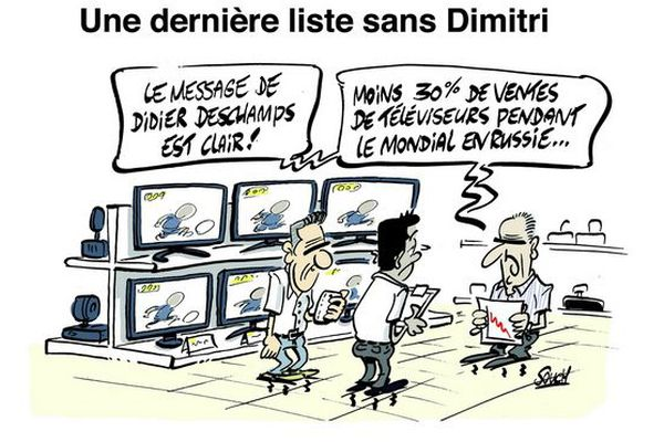 Le dessin de Souch : Dimitri