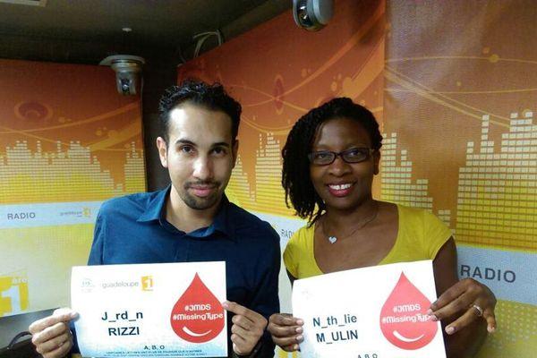 Guadeloupe 1ère la Radio et l'EFS