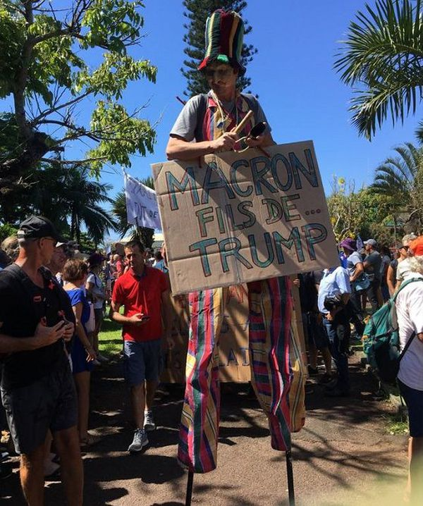 Grève 5 décembre La Réunion