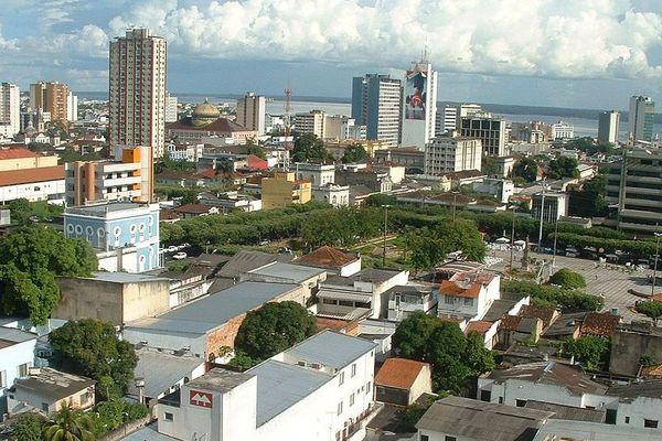 Centre ville de Manaus