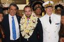 Sébastien Lecornu, secrétaire d'État à la transition écologique, est à Tahiti