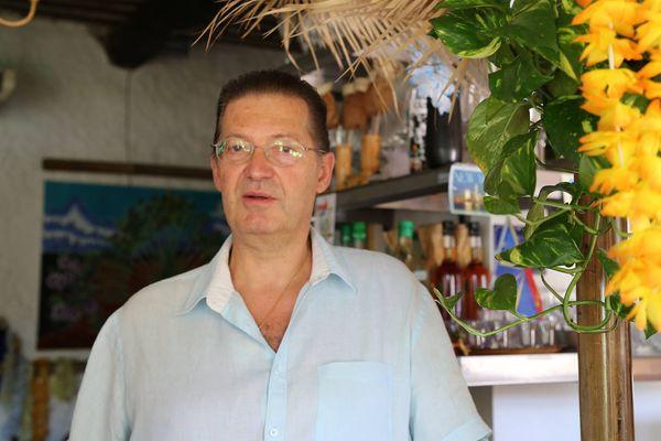 Jean-Michel, propriétaire du restaurant Le Kaloupilé
