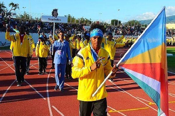 Délégation des Seychelles lors des JIOI à La Réunion