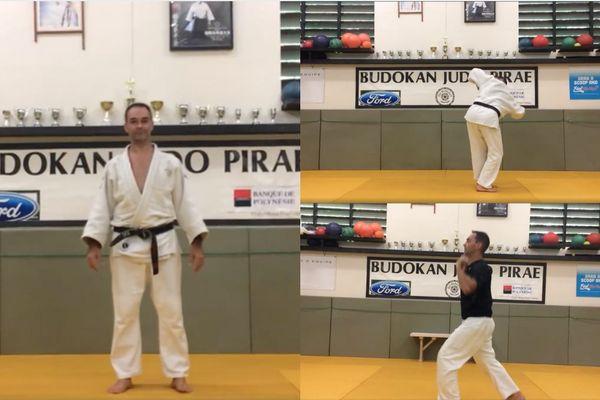 Des cours de judo à la maison