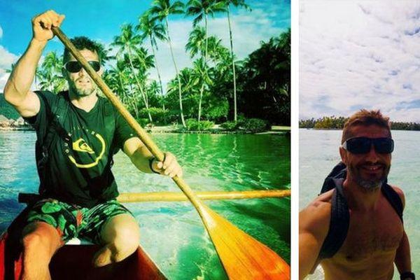 Bixente Lizarazu prend du bon temps dans nos îles