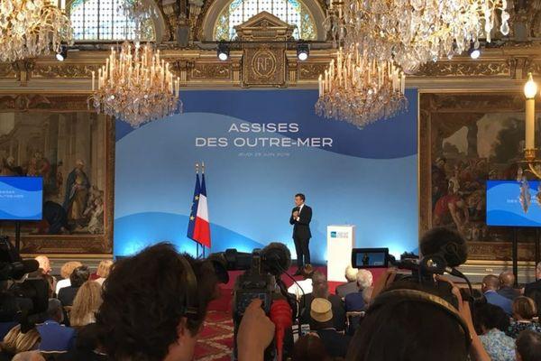 Macron Assises des OM