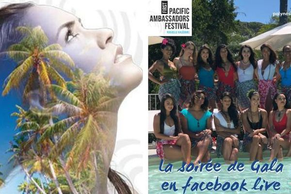 Pacific Ambassador Festival : la soirée de gala en Facebook Live