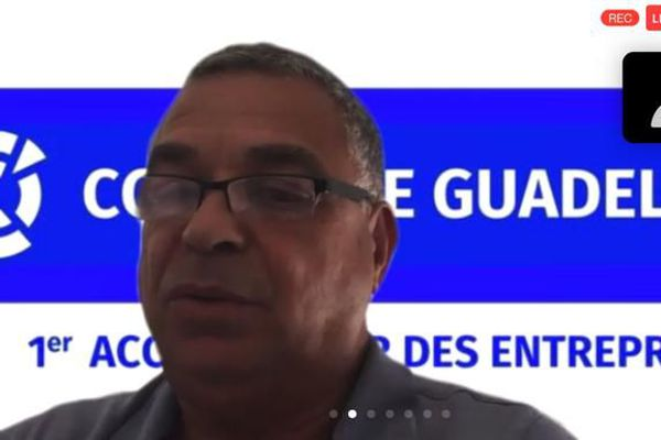 Patrick Vial-Collet, Président de la CCI Îles de Guadeloupe
