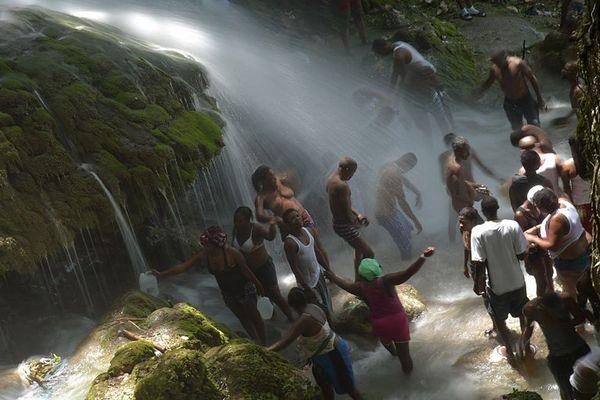haiti saut d'eau
