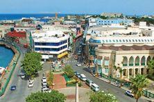 Bridgetown, capital de Barbade.