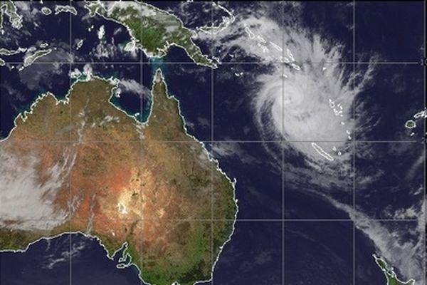 Cyclone FREDA 2 vue générale