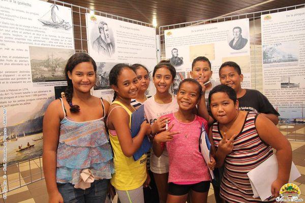 Visite des élèves de l'école Mamao