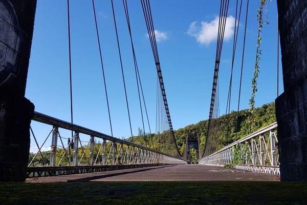 Pont suspendu de la Rivière de l'Est -  6