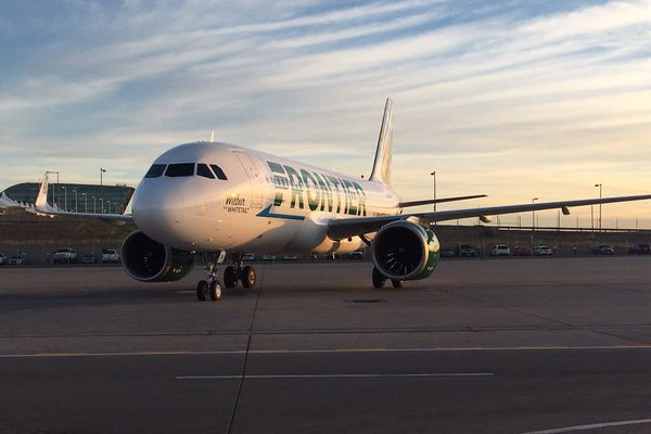 Frontier airline USA