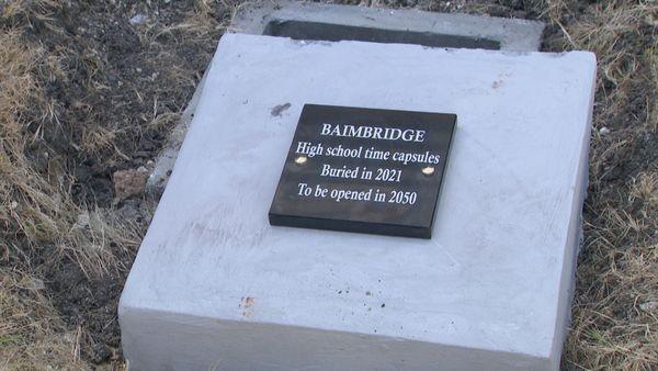 Capsule temporelle Lycée de Baimbridge