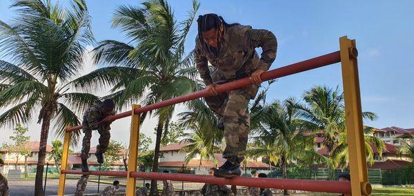 Des jeunes lycéens de Kourou en immersion au 3ème REI de la légion étrangère