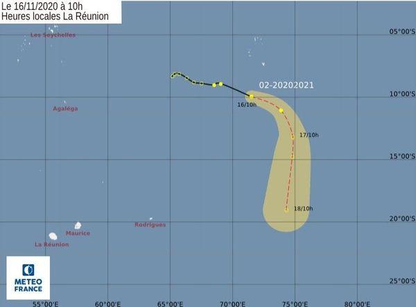 Saison cyclonique tempête tropicale 161120