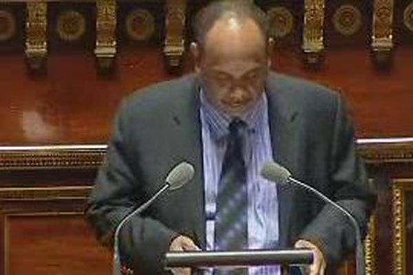 Jean-Etienne Antoinettre, sénateur maire de Kourou