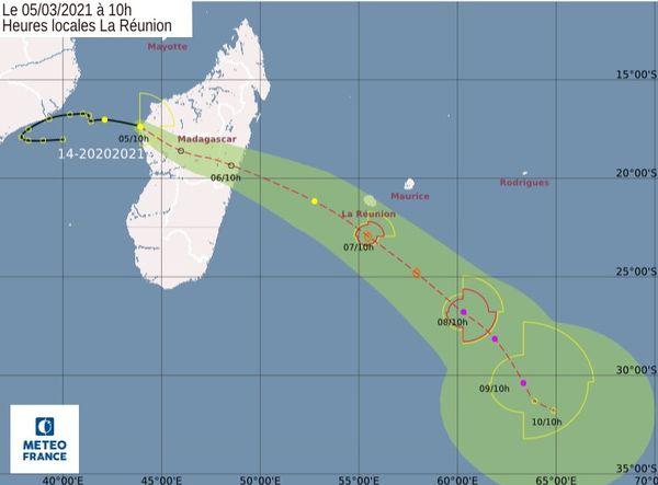 dépression tropicale 14 050321