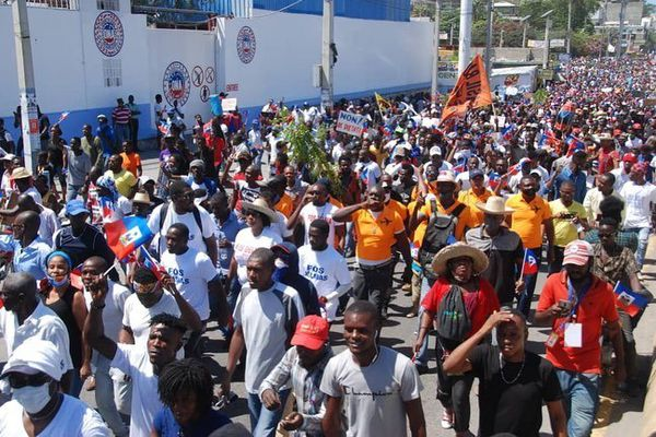 Manifestation Haïti 27/02/2021
