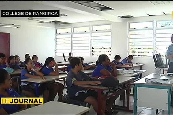 Prévention de la délinquance à Rangiroa