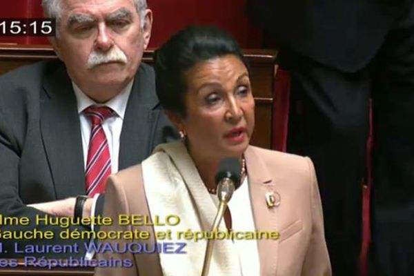 Huguette Bello, députée de La Réunion