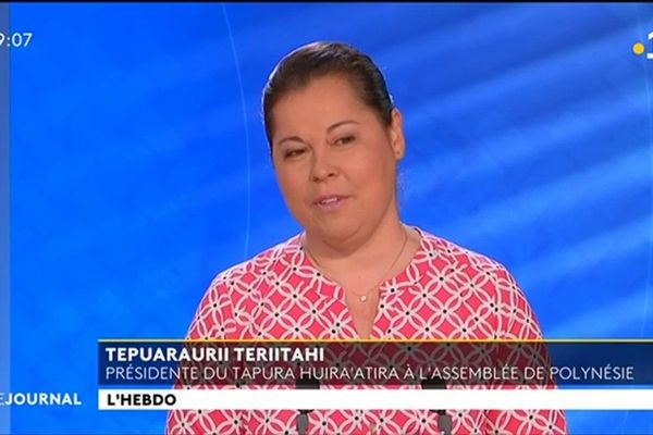 Tepuraurii Teriitahi : « j'ai pas vu un franc venir de l'ONU »