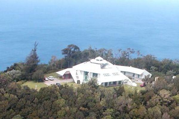 Photo aérienne de l'OVSG-IPGP